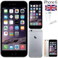 Apple iPhone 6 Space Grey 16GB Unlocked SIM Free Smartphone Good Condition UK