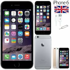 Apple iPhone 6 Space Grey 16GB Unlocked SIM Free Smartphone Good Condition UK
