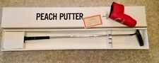 NEAR MINT in box TAD MOORE PEACH PUTTER HANDMADE 1992 AUTHENTICITY CERTIFICATE