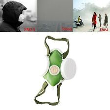 Dual Respirator Anti-Dust Gas Mask Twin Chemical Spray Paint Safety Headwear New