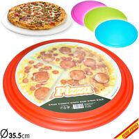 Bandeja de Pizza Plato de Plastico 35.5cm Muy Duro Resistente Placa tipo Resina