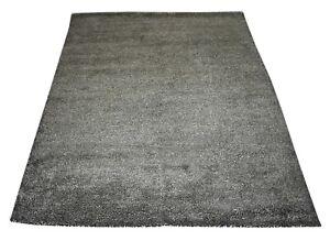 Hand Loom Silk Carpet 58.8''x 75'6'' Inch Living Room Bedroom Decor Rug DN-1683