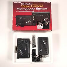 Radio Shack FM Wireless Video Camera Microphone CAT NO. 32-1226 EUC