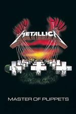 "METALLICA POSTER ""MASTER OF PUPPETS"""