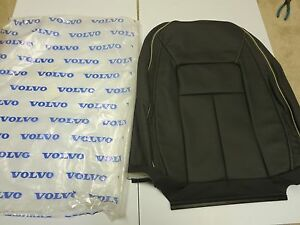 NEW, VOLVO OEM  2012 2013 2014 2015 S80  leather factory seat cover Inscription