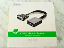 Adaptador DVI-D a VGA activo UGREEN 1920x1080 FullHD