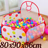 Ocean Ball Pit Pool Tent Holder Kids Baby Foldable Outdoor Indoor Play Toy Gift