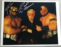 Road Warrior Animal Signed 8x10 Photo LOD HAWK NWA WWF AWA WRESTLING