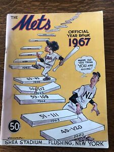 1967 New York Mets Official Baseball Year Book FREE SHIPPING