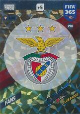 Fifa 365 Cards 2018 - 298 - SL Benfica Badge - SL Benfica - Fans