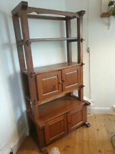 More details for solid oak dutch cheese rack - cabinet and shelving unit