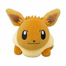 Ensky Pocket Monster Eevee Fluffy Pillow New From Japan 4970381429256