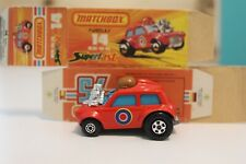 VTG Lesney Matchbox Superfast No. 14B Mini Ha Ha - Flesh Driver - Orig. Box