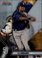 2019 Bowman's Best Top Prospects #TP-2 CJ Abrams San Diego Padres  Official MLB