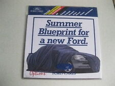FORD PRESENTATION PACK RS/ESCORT,FIESTA,ORION 1993 BROCHURE RARE ITEM BARGAIN