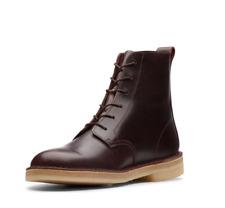 Clarks Originals Desert Mali Mens Chestnut Leather Desert Boots Size 9.5 UK