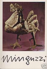 Sculture e Gouaches di Luciano Minguzzi 1950-1970.