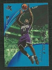 ANTHONY MASON 01-02 FLEER EX ESSENTIAL CREDENTIALS FUTURE 21/52 MILWAUKEE BUCKS
