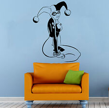 Harley Quinn Wall Vinyl Decal Cartoon Comics Hero Sticker Art Home Decor (23b2j)