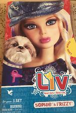 Liv Spinmaster Fashion Doll Sophie & Frizzy Dog Liv World 2009
