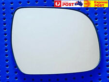 Right side mirror glass to suit Toyota Tarago 2006 onward Convex with base