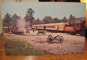 GA Stone Mountain Memorial Railroad Train General II Georgia Vintage Postcard