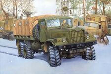Roden 1/35 KrAZ-255B Off Road Military Transport Truck Model Kit 805