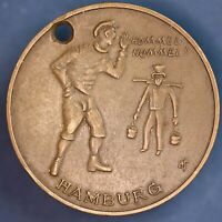 c19th German Hummel Hummel Hamburg medallion, 40mm *[16970]