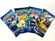 CHARIZARD EX Collection Box Sealed POKEMON TCG Cards 4 Booster Packs Evolutions