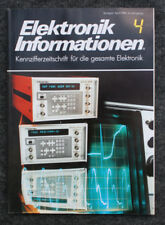 RARITÄT FÜR SAMMLER - ELEKTRONIK INFORMATIONEN 4 - ZEITSCHRIFT VON 1984