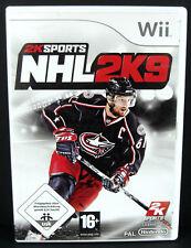 NHL 2K9 (Eishockey) für Nintendo Wii in OVP + Anleitung /dt./ TOP Zustand!
