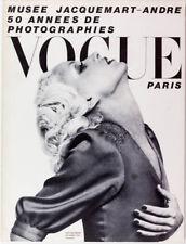 Donna Jordan GUY BOURDIN Dali HORST Penn NORMAN PARKINSON Klein PARIS VOGUE 1970