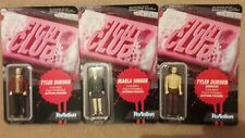 FUNKO REACTION THE FIGHT CLUB SET OF 3 FIGURES MOC SEALED