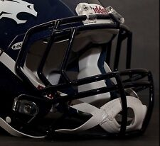 DENVER BRONCOS Riddell Speed S2EG Football Helmet Facemask/Faceguard (NAVY BLUE)