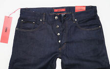 NEU - Hugo Boss  W32 L34 - RED 677/8 - Pure Blue Denim Regular Jeans - 32/34