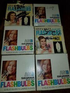 Flashbulbs AG1 And AG1B Sylvania Vintage Photography