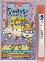 RARE VHS Video Tape RUGRATS - Bedtime Bash Small Box NICKELODEON 5 Cartoons