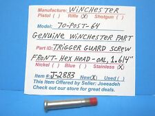 "WINCHESTER MOD. 70  (TRIGGER GUARD SCREW-FRONT-O.A.L- 1.614"" ) (J-2883)"