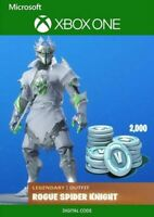 (Xbox One)Fortnite Legendary Rogue Spider Knight Outfit+2000 V-Bucks (Key email)