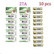 10 x 27A 12V MN27 A27 L828 V27GA CA22 Alkaline Battery Button Battery Durable
