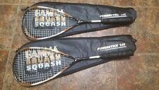 Two Gamma Powerstick 140 Squash racquet and new grip grip Rare