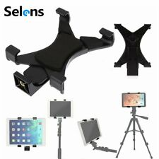 """Tripod Mount Adapter 1/4"""" Tablet Clamp Holder Fits iPad air Monopod Tripod Stand"""