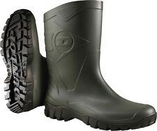 Dunlop Bottines Gr. 47 Vert Foncé / Noir Bottes en Caoutchouc de Travail