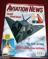 Aviation News 2003 February V-22 Osprey,Salzburg,Lapa