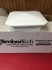 "TimberTech RadianceRail 5"" Post Cap - for Composite Deck Railing System in White"