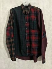 Opening Ceremony x Pendleton Patchwork Flannel Multicolor Shirt XL