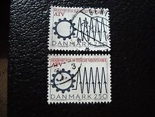 DANEMARK - timbre yvert et tellier n° 899 x2 obl (A33) stamp denmark