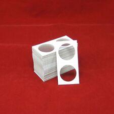 100 Cardboard 2x2 Coin Holder Mylar Flips for Silver Dollars