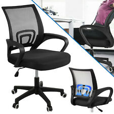 Office Mesh Chair Adjustable Executive Swivel Computer PC Desk Seat Fabric Chair