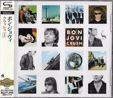 BON JOVI CRUSH 2012 LMT EDT JAPAN RMST SHM CD +3 BRAND NEW/FACTORY SEALED!